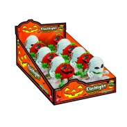 Halloween Flashlight/Keychain Pumpkins & Mummys 12ct