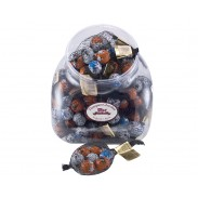 Halloween Foil Wrapped Milk Chocolate Balls in a mesh bag 1.5oz. - 30ct.