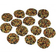 Halloween Nonpareils Dark Chocolate