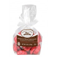 *Thompson Red Foil Milk Chocolate Hearts 6oz. Cello Bag 3 Count