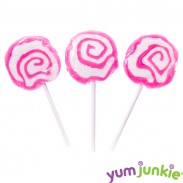 Hypno Lollipops Pink & White