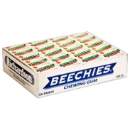 Beechies Spearmint Gum 2pc. 100ct.