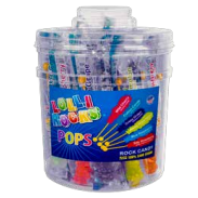 Lollirocks Assorted Tub 36ct.