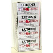 LUDENS COUGH DROPS CHERRY 20ct