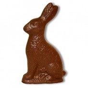 *Madelaine Sitting Rabbits Milk Chocolate 1oz.