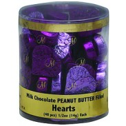 Madelaine Peanut Butter Filled Hearts 40ct. Display