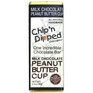 Chip 'n Dipped Milk Chocolate Peanut Butter Cup 3.4oz. Bar
