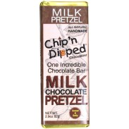Chip 'n Dipped Milk Chocolate with Pretzel 2.9oz. Bar