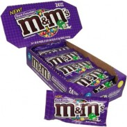 M&M DARK CHOCOLATE 24ct.
