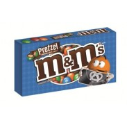 M&M PRETZEL 2.83oz. MOVIE THEATER BOX