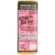 Chip 'n Dipped Dark Chocolate Marshmallow Sundae 3.1oz. Bar