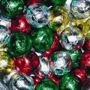 Red/green/silver  Balls