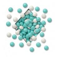 COLORWHEEL MILKIES PASTEL BLUE & WHITE