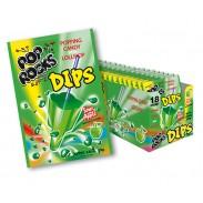 Pop Rocks Dips Sour Apple 18ct.