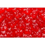 Gummy Bears Red Hot Cinnamon