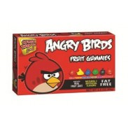 ANGRY BIRDS GUMMIES MOVIE THEATER BOX 3.5oz.