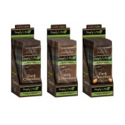 SIMPLY LITESUGAR FREE CHOCOLATE BARS 3oz.