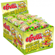 Gummi Burger Sour Mini 60ct