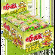 Gummi Burger Sour Mini 60ct