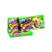GUMMY WORMS SOUR SQUIGGLES3.5oz. MOVIE THEATER BOX