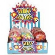 HOT SPORTS GUMBALL DISPENSER 12ct