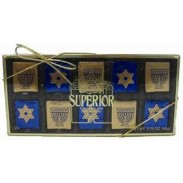 CHANUKAH NAPOLITAINS 10pc. GIFT BOX