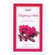 Sweet's Raspberry Sticks 4.1oz.