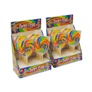Swirl Lollipops 3oz. in Display