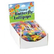 TEENY BUTTERFLY LOLLIPOPS 96ct.