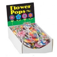 TEENY FLOWER LOLLIPOPS 96ct.