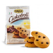 Ciokofroll Shortcake Cookies with Chocolate Chips