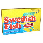 Swedish Fish Red 3.1oz. Movie Theater Box