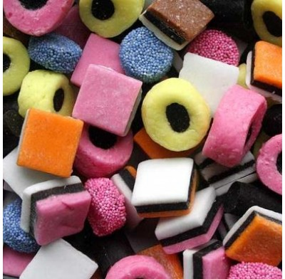 Licorice Allsorts 1 lb. Bag