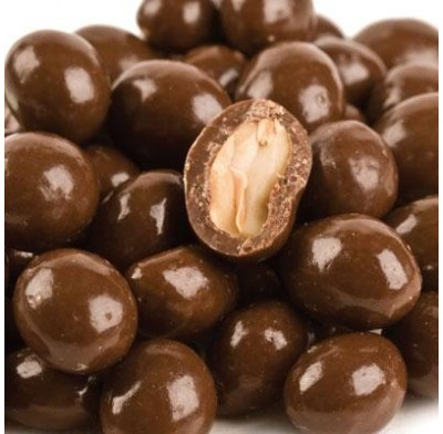 Chocolate Covered Peanuts Milk  1 lb. Bag