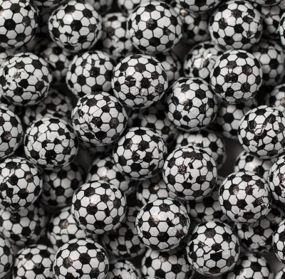 SOCCERBALLS FOIL WRAPPED