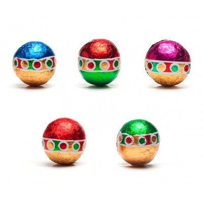 Madelaine Christmas Balls Milk Chocolate