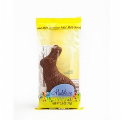 Madelaine Sitting Rabbits Milk Chocolate 2.5oz.