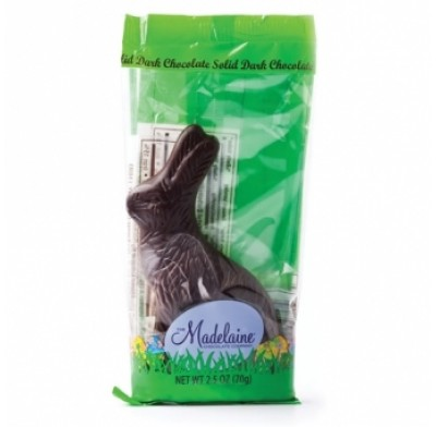 Madelaine Sitting Rabbits Dark Chocolate 2.5oz.