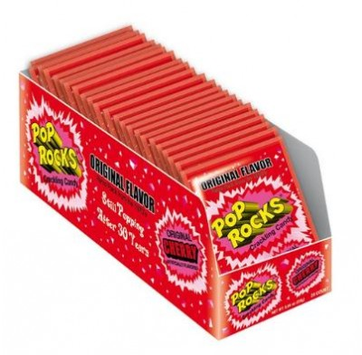 POP ROCKS ORIGINAL CHERRY 24ct