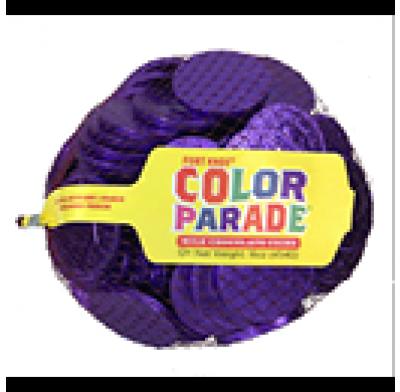 """Coins Purple 1.5"""" 1lb. Bag"""
