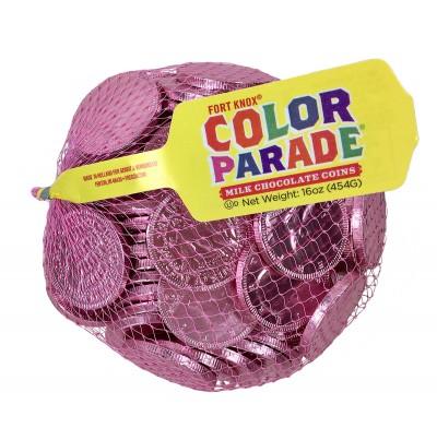 """Coins Pink 1.5"""" 1lb. Bag"""