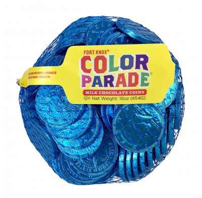 "Coins Caribbean Blue 1.5"" 1lb. Bag"