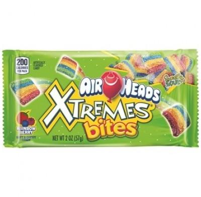 Airheads Xtreme Bites Rainbow 18ct