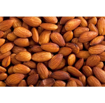 Almonds Roasted No Salt 1 lb. Bag