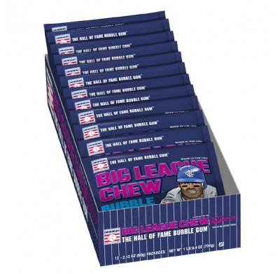 Big League Chew Blue Raspberry 12ct.