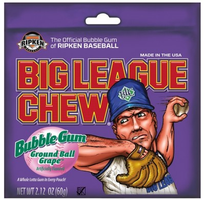 Big League Chew Grape 12ct.