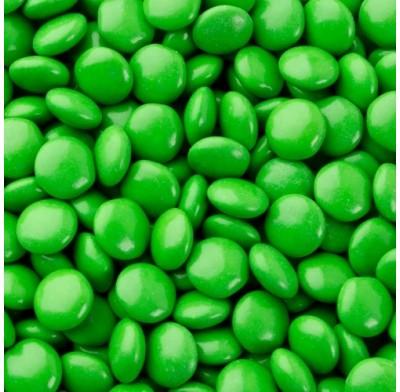 Chocolate Buttons (Gems) Milk Chocolate Green