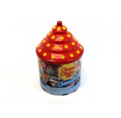 Chupa Chups 60ct. Display Jar