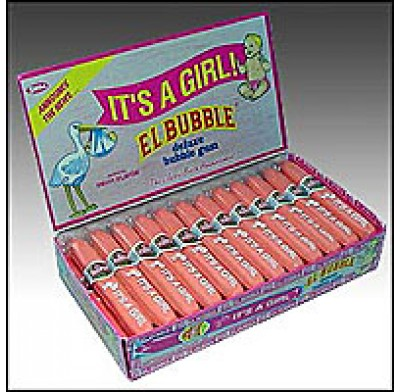IT'S A GIRL BUBBLE GUM CIGARS