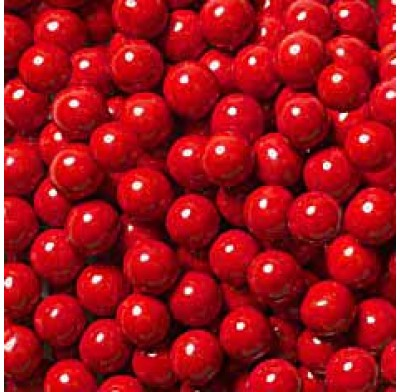 "Gumballs Red 1/2"" 2lbs."